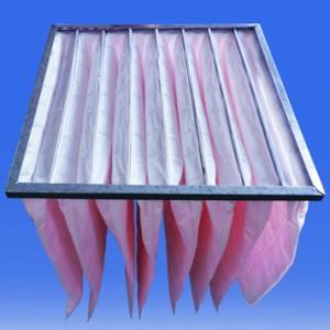可更换化纤袋式中效过滤器