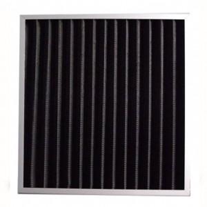 板式初效活性炭过滤器