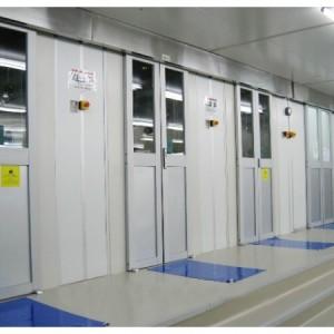 自动感应门货淋室的工作原理及自动感应门货淋室产品特性