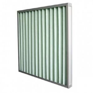 铝框折叠式初效过滤器