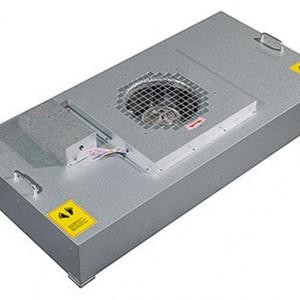 FFU选型应注意FFU静压值与洁净室系统压损的运作关系