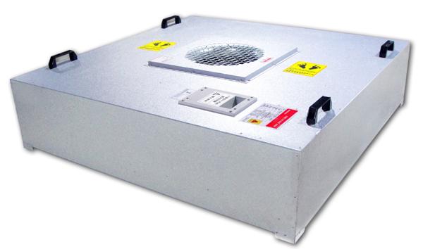 ZJ-FFU-EC400型号FFU工作时间长,低噪声,免维护,震动小,可无级调速,风速均匀,安装方便等。
