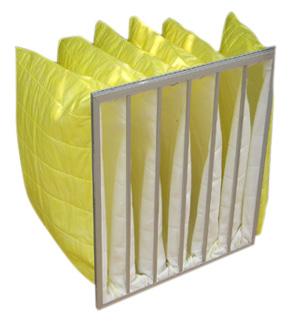 化纤袋式中效过滤器主要用于中央空调通风系统中级过滤,还可做为高效过滤的前端过滤.