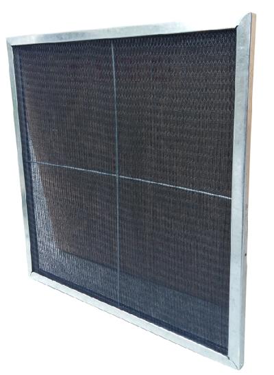 镀锌框尼龙网初效过滤器外框可重复利用,多次清洗,节省成本。