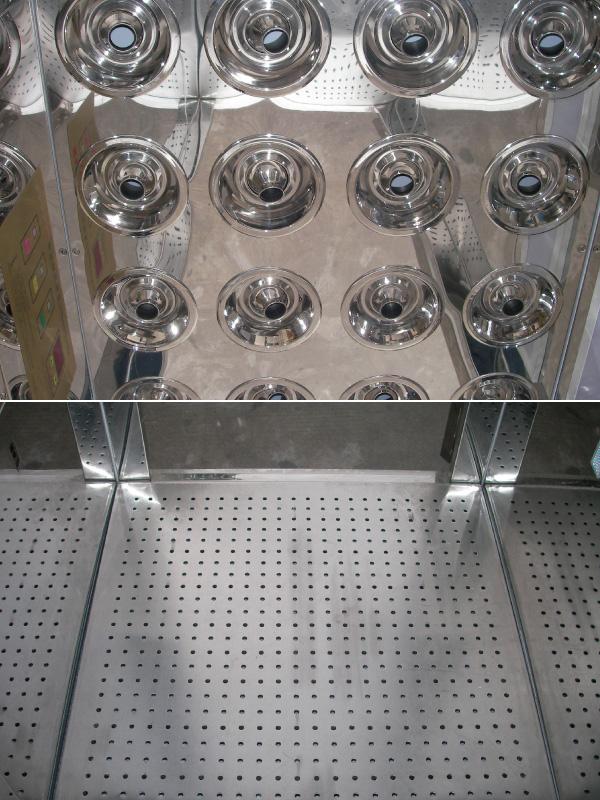 风淋室/货淋室系列产品是一种通用性较强的局部净化设备,安装于洁净室与非洁净室之间。