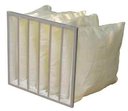 G3级化纤袋式初效过滤器主要用于大型空压机预过滤
