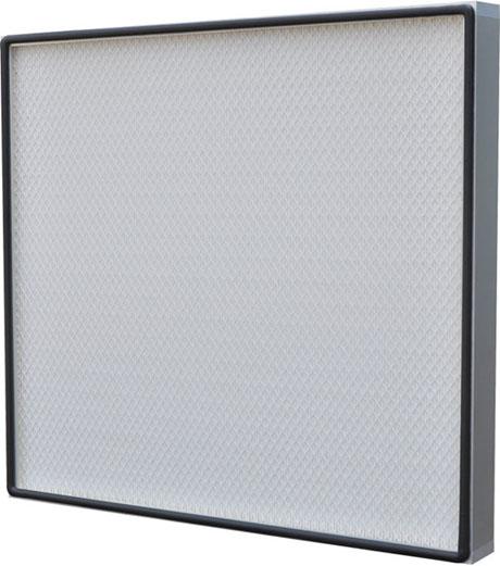 FFU无隔板高效滤器采用铝型材外框,表面阳极处理,进出风面带喷塑金属护网.