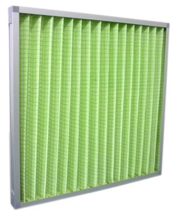 带网面铝框折叠式初效过滤器