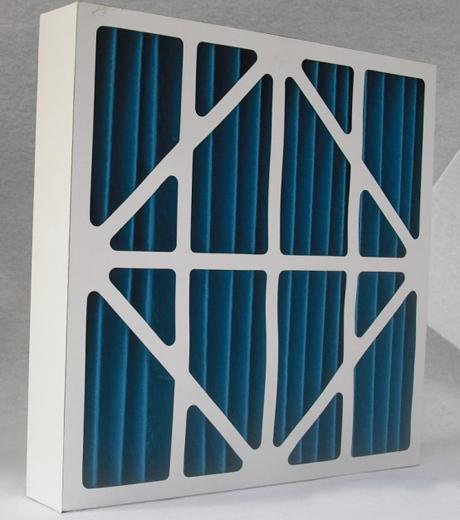 g2级纸框折叠式初效过滤器用于空气压缩机的预过滤,洁净室回风过滤,高效过滤装置的预过滤.