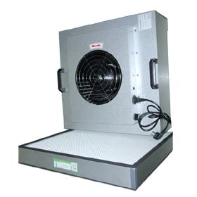 净化室FFU在净化室中起到的过滤尘埃及送新风的作用。