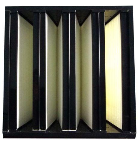 塑框组合式高效过滤器正面