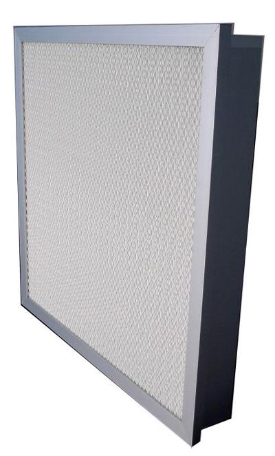 液槽式无隔板高效过滤器外形美观,密封性能好,安装方便,重量轻,厚度薄,过滤效率高。