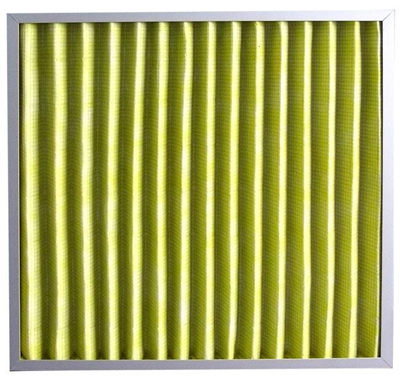 折叠板式中效过滤器采用超细化纤纤维滤料,容尘量大,使用周期内效率稳定。