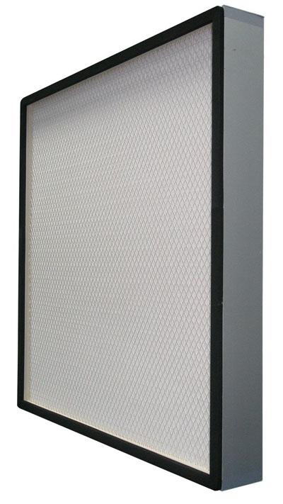 无隔板中效过滤器主要用于中央空调和集成送风系统,可用于空调系统的中级过滤。