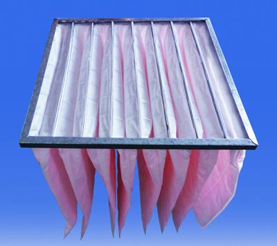 F7级可更换化纤袋式中效过滤器