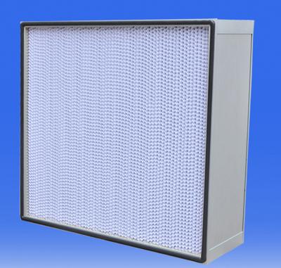 有隔板亚高效过滤器又称为亚高效空气过滤器,有隔板亚高效过滤器主要用于过滤大于0.5μm的尘埃粒子,其过滤效率介于高效过滤器与中效过滤器之间.