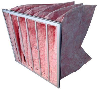玻璃纤维袋式中效过滤器主要用于中央空调通风系统中级过滤,是防火认证企业的理想选择,也是通风空调系统常用的理想配置。