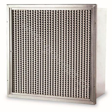 带法兰耐高湿有隔板高效过滤器