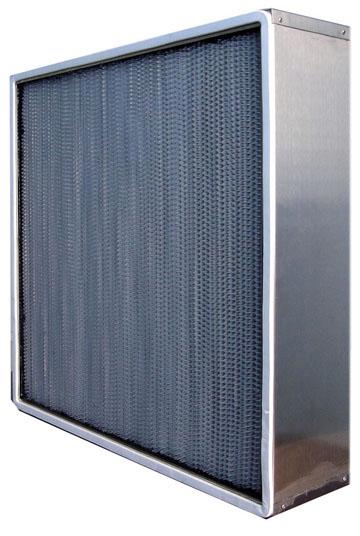 无法兰耐400度高温高效过滤器主要是方便用户安装。