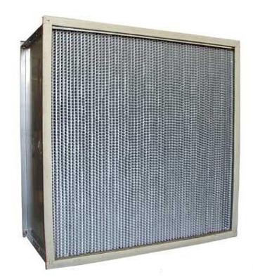 耐400度高温高效过滤器通常应用于高温洁净烘箱、高温灭菌设备及高等级净化设备等。