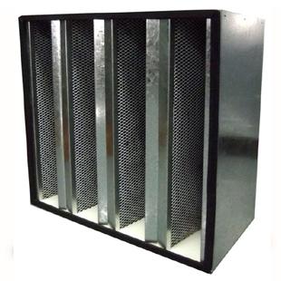 镀锌框组合式活性炭过滤器特色图