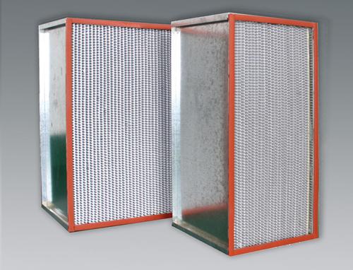 260℃耐高温高效过滤器广泛用于制药和食品加工等行业。