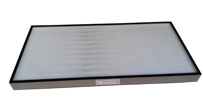 高效空气过滤器每台均经纳焰法测试,具有过滤效率高、阻力低、容尘量大等特点。