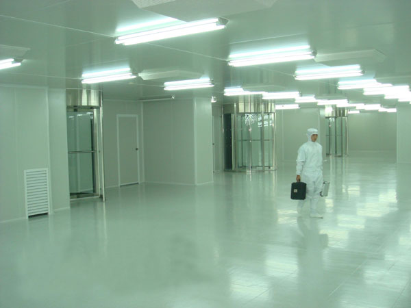 PVC地板在净化工程中的应用