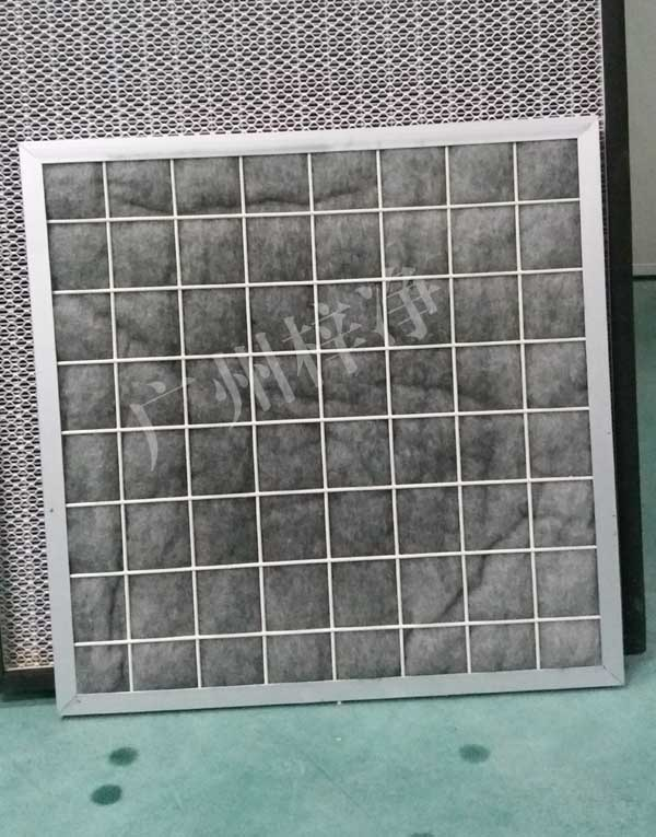 用旧了的FFU初效过滤器对净化无尘车间会有严重的污染