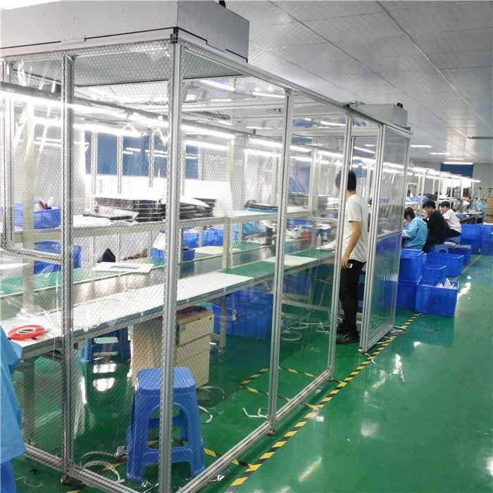 十万级洁净棚满足各种不同制造生产之无尘室环境需