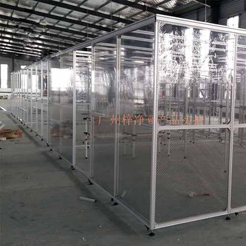 十万级洁净棚又被称为100000级净化棚或者十万级无尘棚
