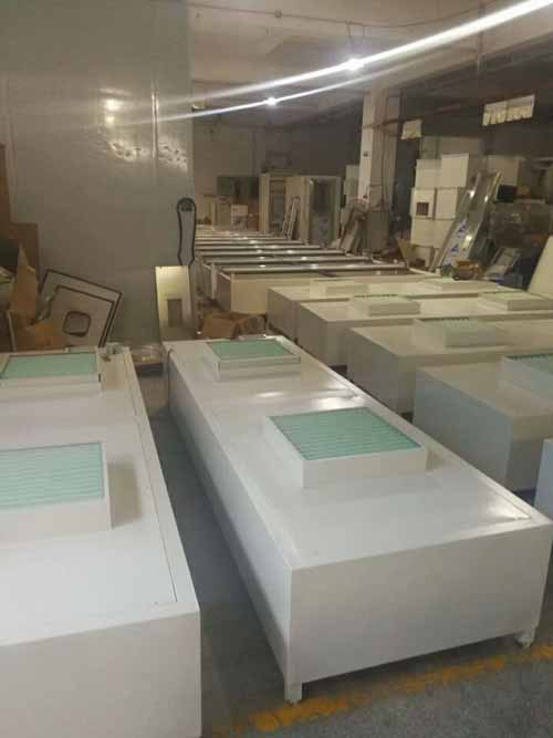 FFU层流罩适用于在各种环境中获得高级别的洁净环境。
