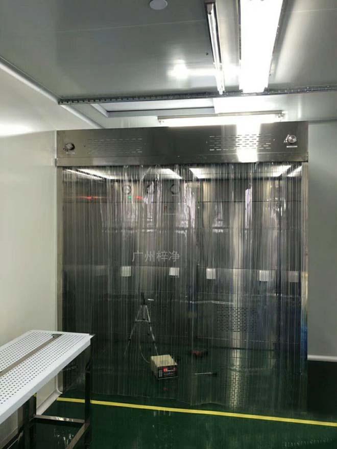净化层流罩现场安装检测
