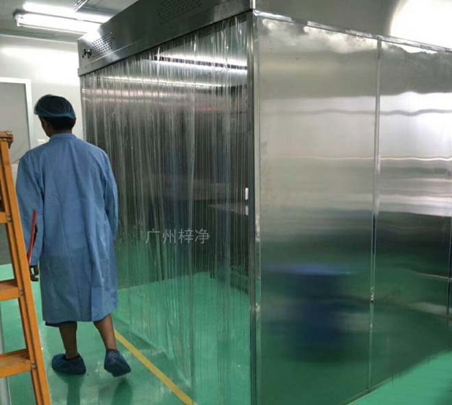 净化层流罩适合用于从10.000级到10级的各种洁净室,并可组装成超净生产线