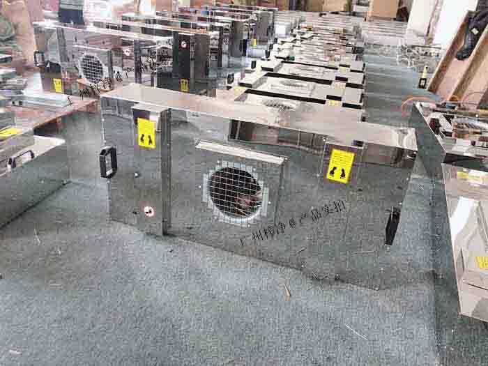 FFU主要是应用于洁净度为10~1000000级的洁净厂房