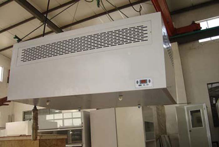 吊顶式层流罩是一种可提供局部洁净环境的空气净化单元