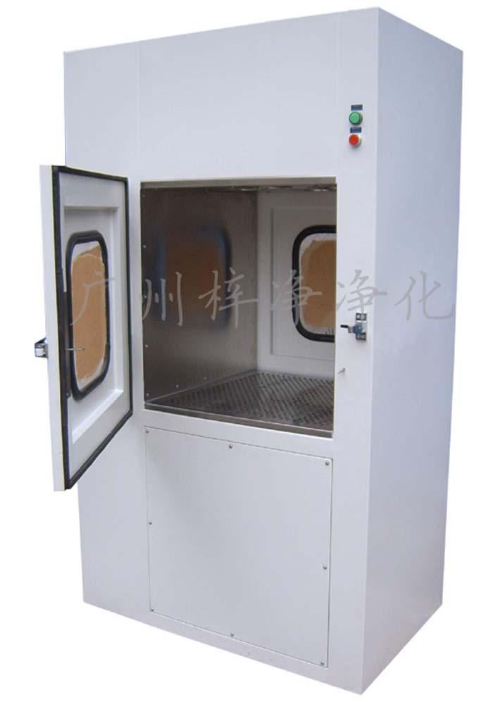 风淋传递窗也叫风淋式净化传递箱或者风淋式传递柜