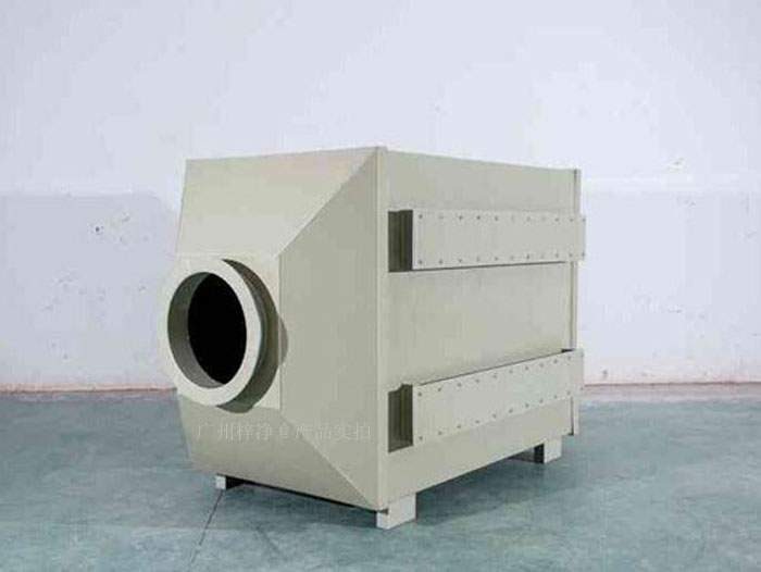 空气过滤箱有两种出风口做法,圆形和方形两种