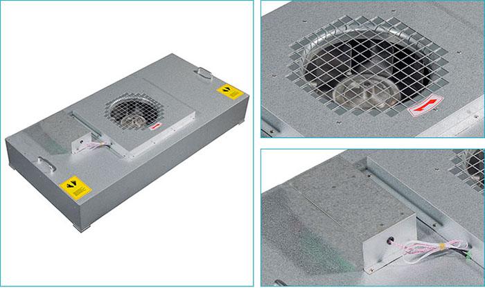 ffu空气过滤机组结构细节